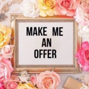 Offers are a great way to make a deal
